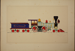 Swinburne Loco. Works, Rochester Div, Bath, NY 1863