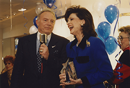[Jerry Jones With Lilly Dodson, Dallas Cowboys' Victory Party, 1996]