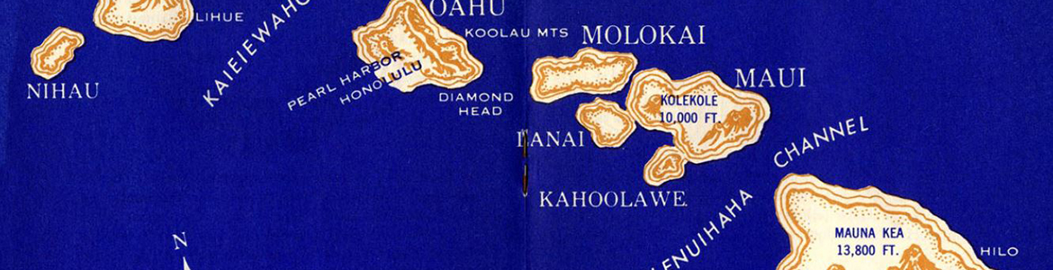 A pocket guide to Hawaii, 1944
