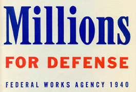 Millions for Defense, 1940