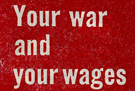 Your War and your Wages, 1942