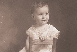 [Horton Foote, Age One, Baby Picture], 1917