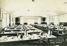 Mess Hall Camp Callan.