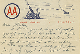 [John C. Cox Jr. to Mr. Charles Cox, 1943, August 24]
