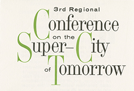 3rd Regional Conference on the Super-City of Tomorrow