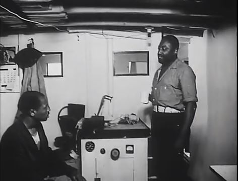 Still from Carib Gold, 1956, by Spendora Film Corporation