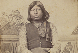 Ton-ka-wa Indian named'Grant' [Richards, Chief], ca. 1865-1872