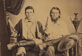 [J.J. Haynes and Tom Bird], ca. 1868, from John J. Haynes Family Album