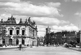 Near the Brandenburg Gate, Berlin, 1945