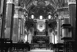 Cathedral interior, Naples, 1944