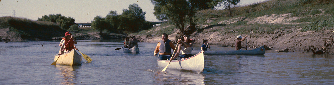 [Canoeing on the Trinity River]