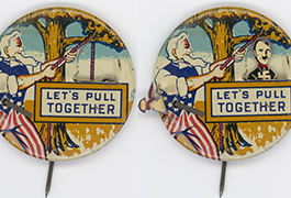 ['Let's Pull Together' Badge]