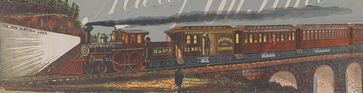 Hannibal and St. Joseph Railroad: the old reliable route to the West via Quincy