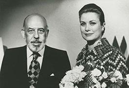 [Stanley Marcus with Princess Grace at Neiman Marcus Fetes de Fleurs France Fortnight]