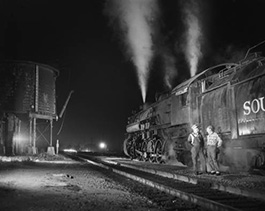 Southern Pacific No. 3625 helper crew