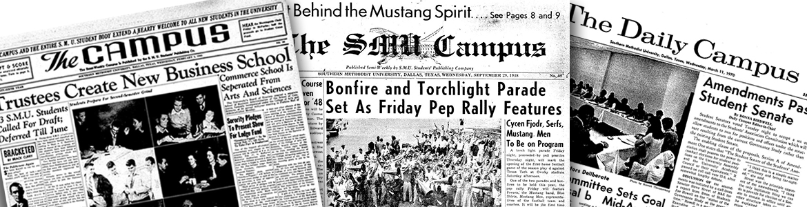 SMU Student Newspapers banner