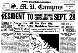 S. M. U. Campus, Volume 1, Number 12, September 1, 1931