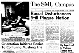 The SMU Campus, Volume 53, Number 1, September 1, 1967