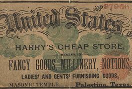 Harry's Cheap Store $3.00 (three dollars) private scrip