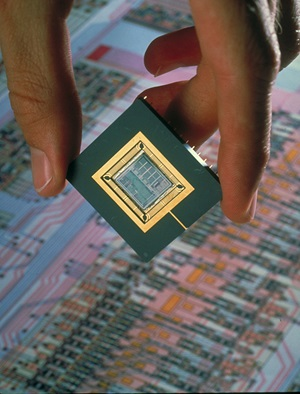 [Digital Signal Processor chip], ca. 1999