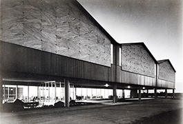 [TI Semiconductor Building, exterior view], 1958