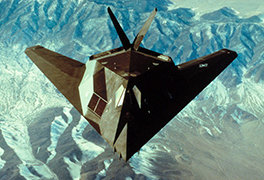 [F-117 stealth fighter], ca. 1980s-1990s