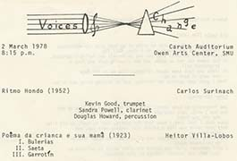 Voices of Change: March 2, 1978
