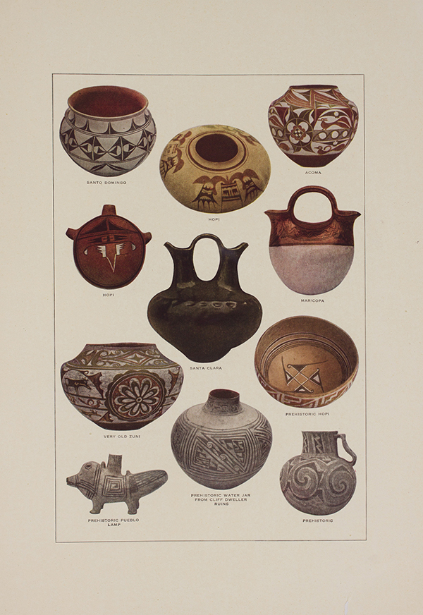 Never Were Two Pieces of Indian Pottery Exactly Alike, [page 52 and 53], 1920