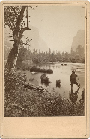 Yosemite Valley from Rocky Ford, 1872