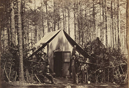General Post-Office, Army of the Potomac, Brandy Station, Virginia.
