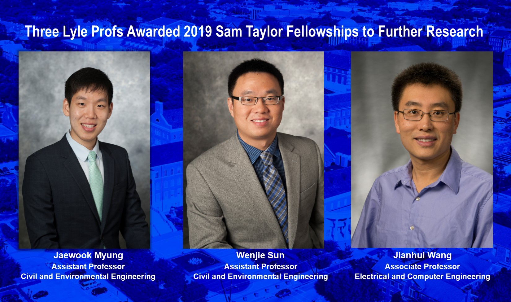 Sam Taylor Fellowship Awards