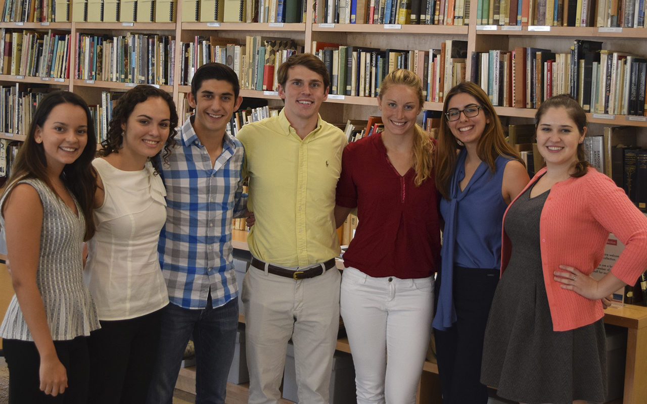 Interdisciplinary undergraduate graduate students at Southern Methodist University in Hunter and Stephanie Hunt Institute for Engineering and Humanity