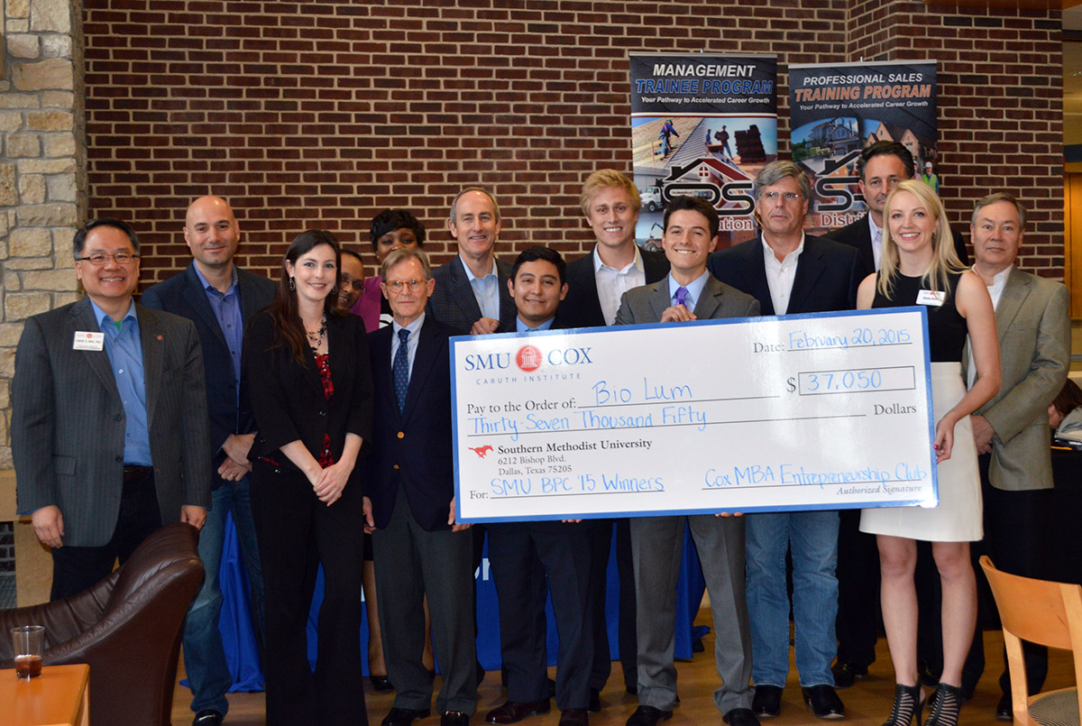 2015 SMU Cox/Lyle Business Plan Competition
