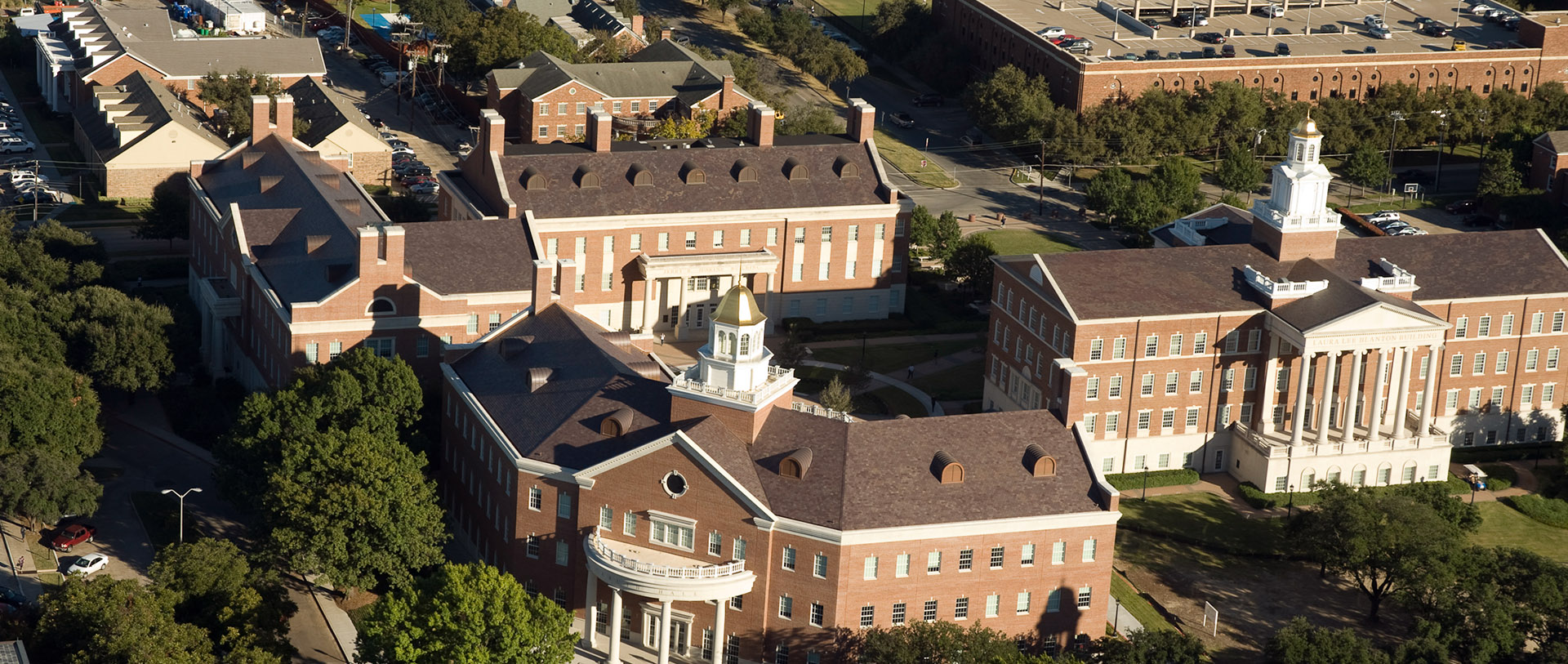 Aerial of Engineering Quad