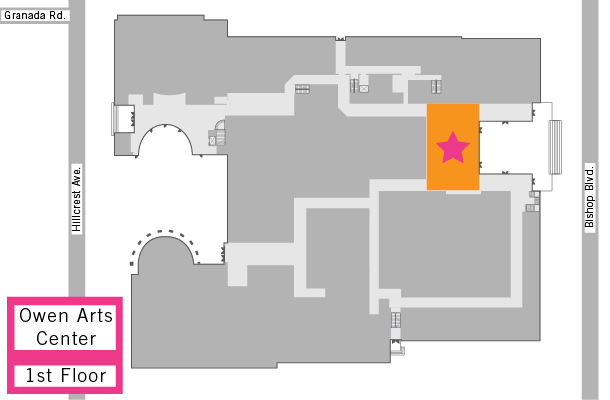 Map to Bob Hope Lobby