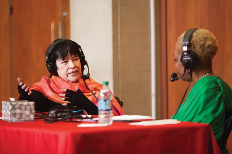 Regina Taylor Interviews Kathy Bates for the SMU Podcast