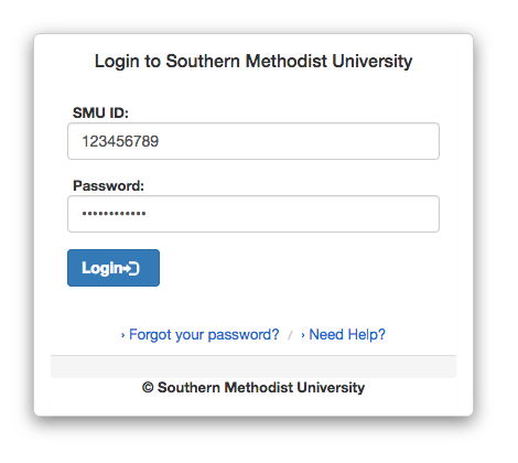 SMU Single Sign-On
