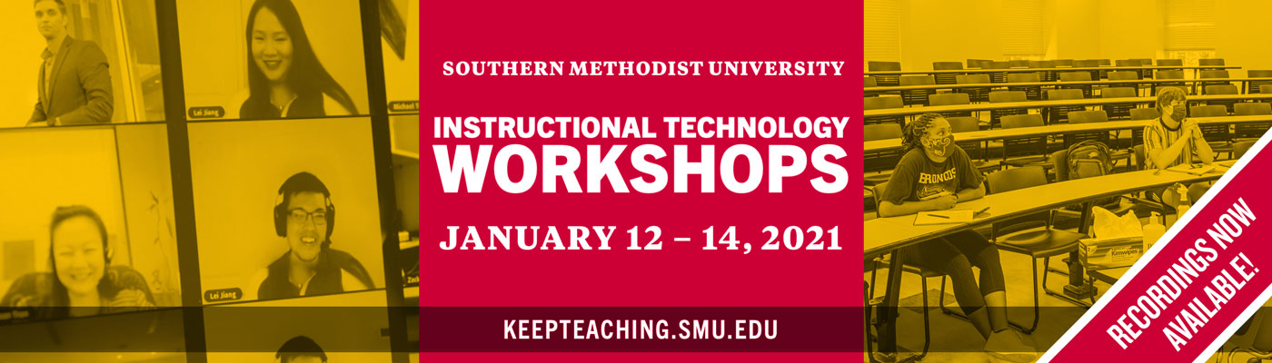 Instructional Technology Workshops 2021