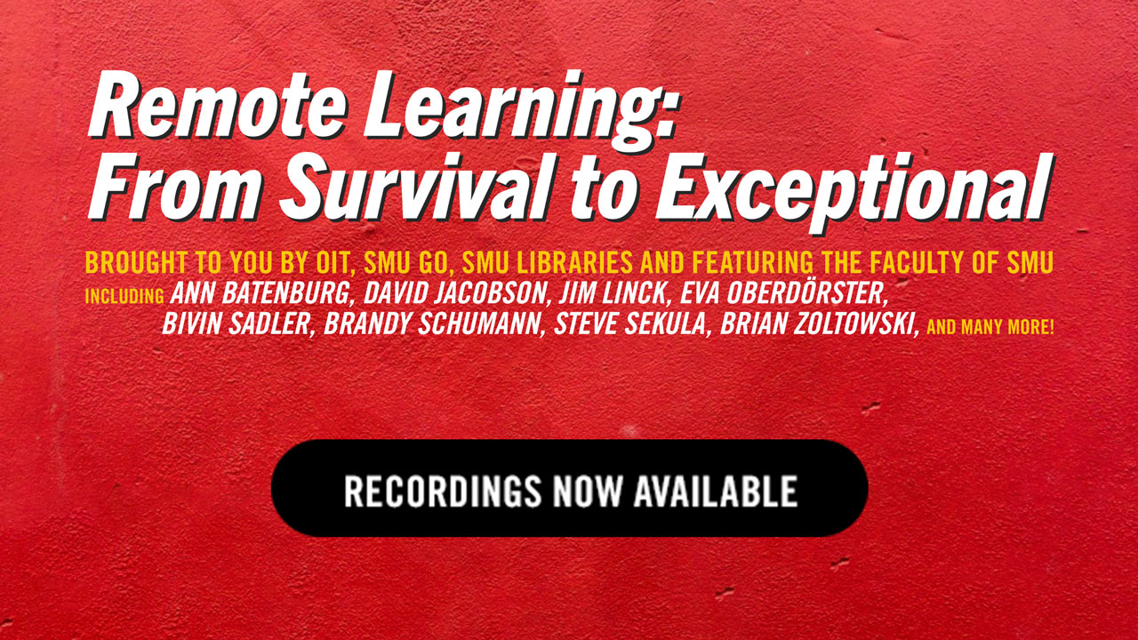 Remote Learning: From Survival to Exceptional