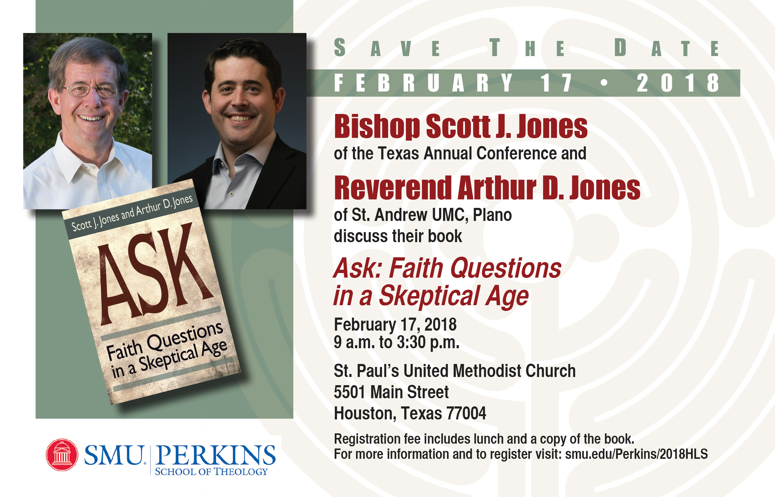 Scott and Arthur Jones discuss their book Ask: Faith Questions in a Skeptical Age