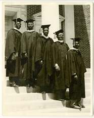 First Five African American Graduates - Perkins School of Theology, Southern Methodist University SMU - Bridwell Library Exhibition Sixtieth 60th Anniversary - photo (small)