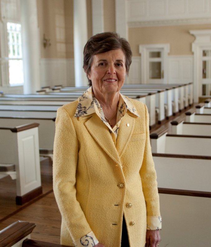 Kay Yeager, 2015 Woodrow B. Seals Laity Award Recipient, Perkins School of Theology, Southern Methodist University SMU