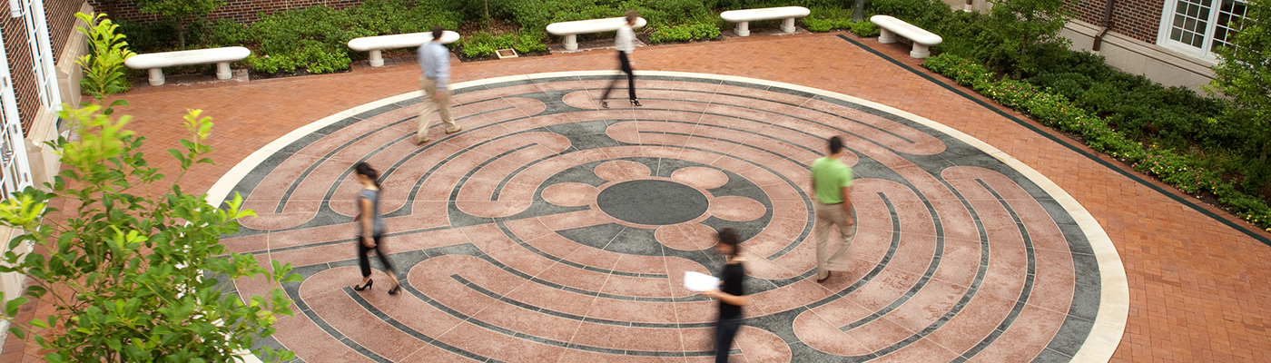 The Ruben Habito Labyrinth, Perkins School of Theology