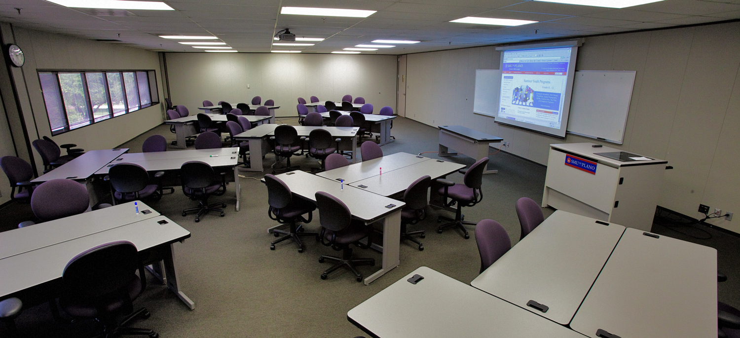 SMU-in-Plano meeting space