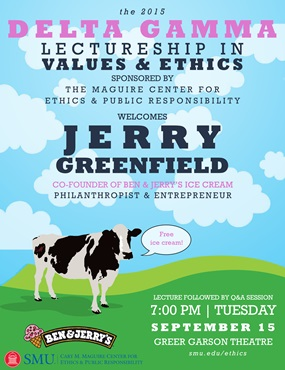 DG Lectureship in Values and Ethics