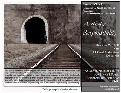 Susan Wolf Lecture