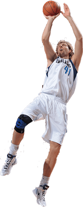 Dirk Nowitzki shooting