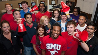 SMU Alumni celebrating