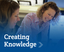 Creating Knowledge: The Simmons School faculty is actively engaged in creating and disseminating knowledge that addressess the challenges faced by education and human development in an increasingly diverse world.