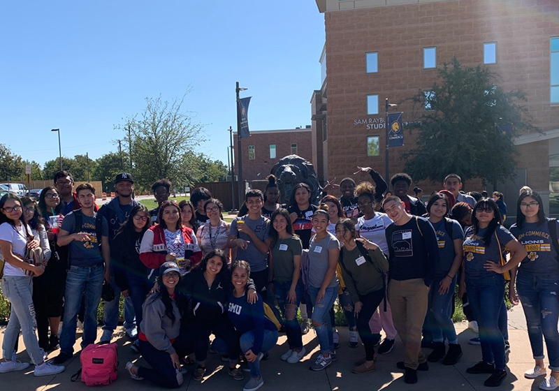 •	Spruce High School seniors attend Texas A&M Commerce Mane Event Preview Day